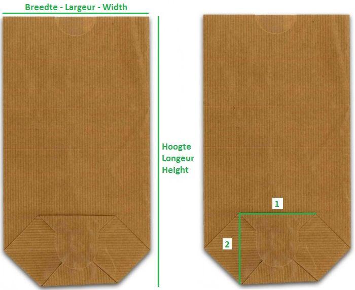 ePacking is uw online winkel voor Bruine neutrale zakken met blokbodem - Papieren vlakke zakken - Zakken & Draagtassen - kraft zak, amerikaanse zak, warenhuis zak, blokbodem zakjes - ePacking - uw specialist in alle verpakkingen en verpakkingsmaterialen - verpakking en verpakkingsmateriaal