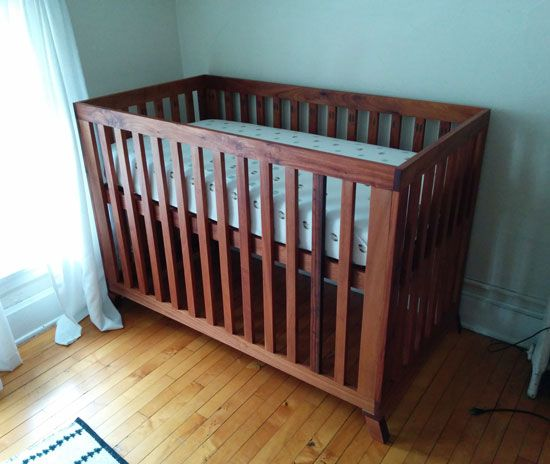 Builders Showcase // A Beautiful Crib for Baby + Crazy Clever Hardware   The Design Confidential
