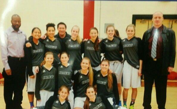 Daughters high school team.