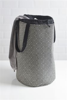 buy geo print laundry bag from the next uk online shop