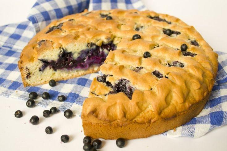 Черничный пирог. Пошаговый рецепт с фото - Ботаничка.ru