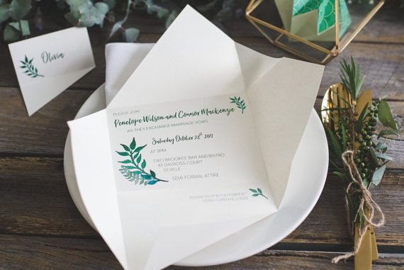 Wedding invitations | Origami invitations | Custom invitations | Unique invitations | Wedding stationery | Elegant invites | Yorokobi fold. Custom wedding invitations by A Tactile Perception