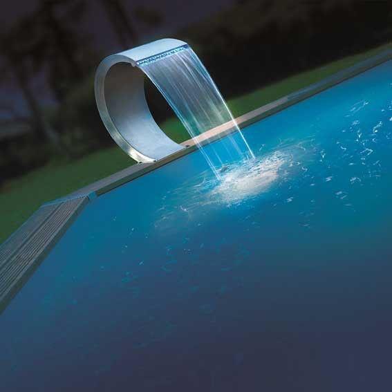 Cascade piscine cobra LED - LeKingStore