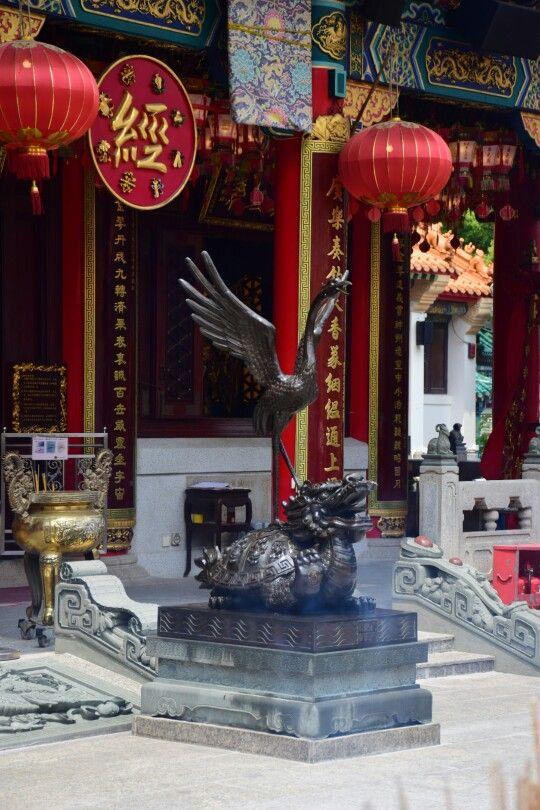 Wong Tai Sin Temple - the crane from kung fu panda!
