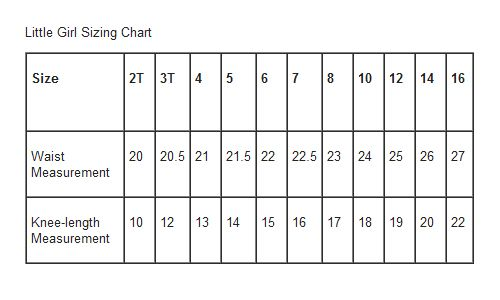 Child skirt sizing chart: Girl Skirts, Measuring Charts, Girls Size, Little Girls Skirts, Skirts Size, Size Charts, Charts Projects, Simple Simon, Teen Size