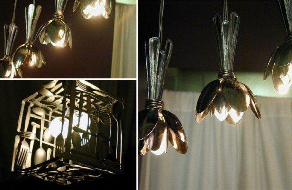 Ausgefallene Lampen Selber Bauen ~ selber bauen ausgefallene lampen lampe löffel bauen ausgefallene