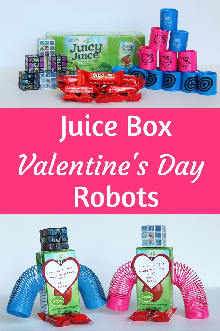 This is a cute and non candy way to share Valentine's Day with your classmates. Each one cost about $2, totally doable for a small class size.