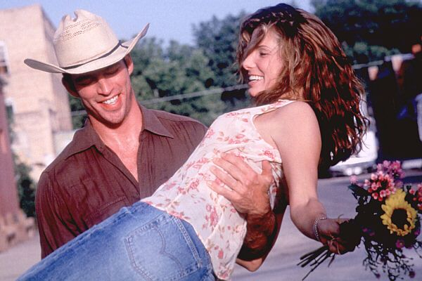 """Beginnings are scary, endings are usually sad but it's the middle that counts the most. You need to remember that when you're at the beginning."" - Birdee, Hope Floats (1998)"