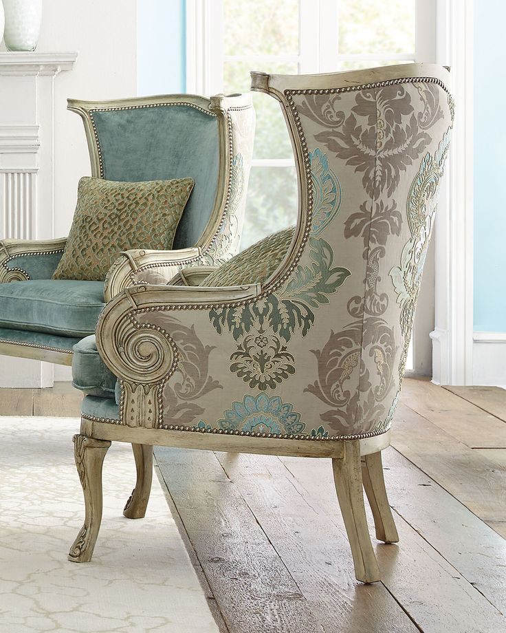 The 25 best accent chairs ideas on pinterest living for Sillas tapizadas estampadas