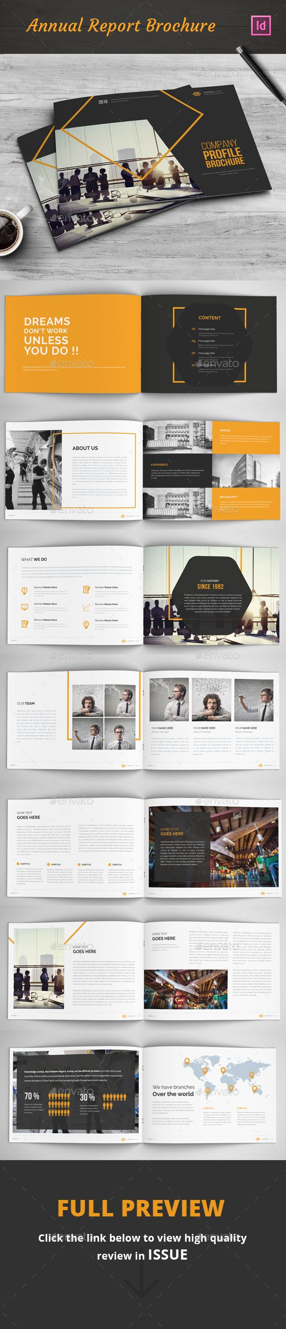 Company Profile Brochure Template InDesign INDD. Download here: http://graphicriver.net/item/company-profile-brochure/16692317?ref=ksioks
