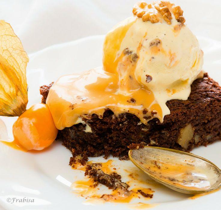 La cocina de Frabisa: Brownie con Salsa de Dulce de Leche. ¡¡Chocolate!!  http://lacocinadefrabisa.blogspot.com.es/2014/04/brownie-con-salsa-de-dulce-de-leche.html