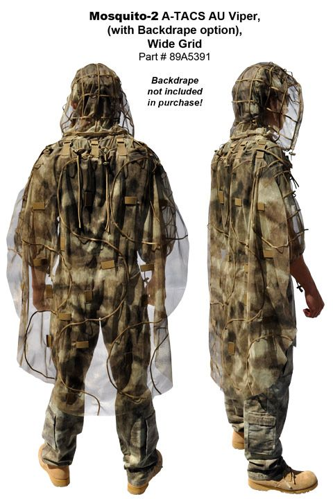 MOSQUITO Viper A-TACS (ghillie suit foundation)