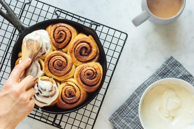Cinnamon rolls/ Ρολάκια κανέλας