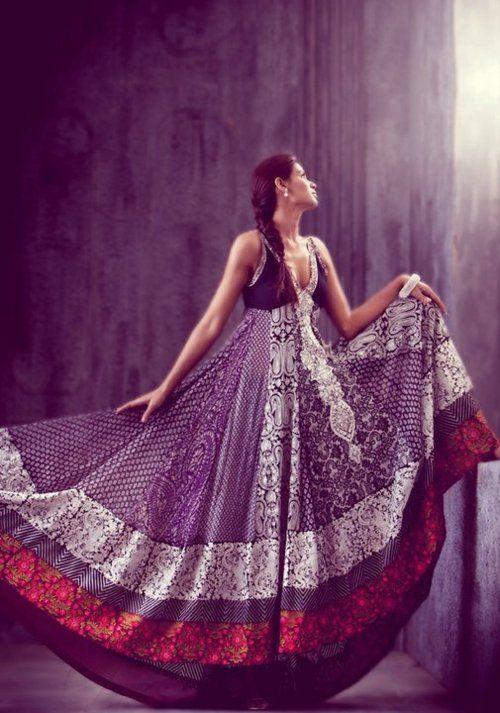 Indian Couture, shalwar kameez, anarkali, boho dress