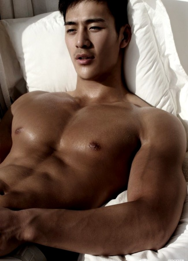 asian male models nude