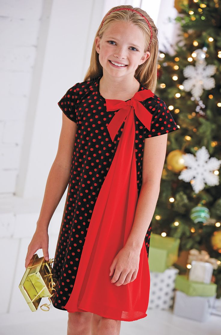 From CWDkids: Dots & Chiffon Dress  Boys?