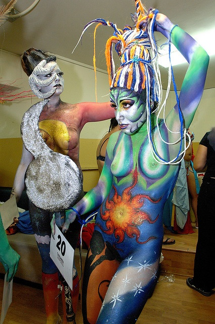 JTS_5830_Body_painting | Flickr - Photo Sharing!