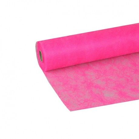 Stof Sizoflor 60cmx25mtr neon roze https://www.bissfloral.nl/blog/2017/11/01/stof-sizoflor-60cmx25mtr-neon-roze/