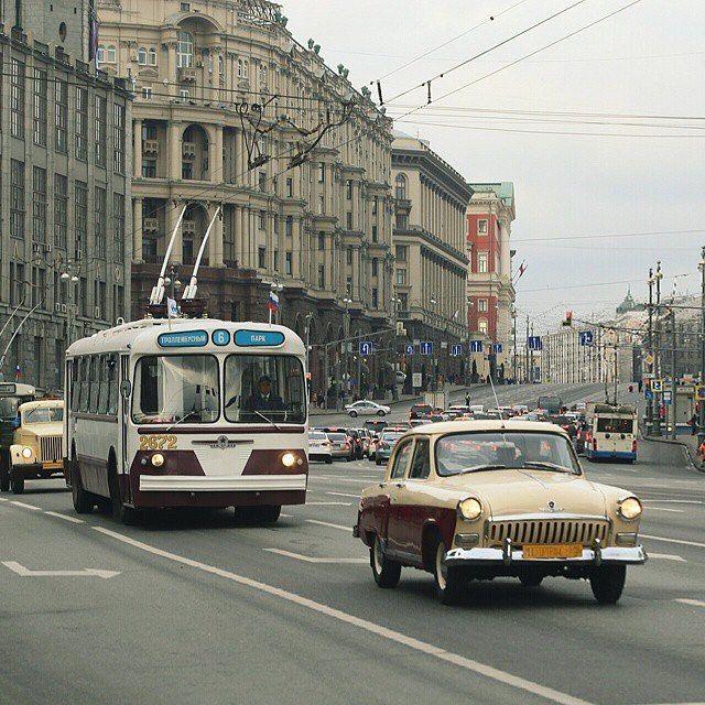 В Москве пройдёт парад ретро-троллейбусов #vsco_russia_events Московский троллейбус отмечает День рождения…