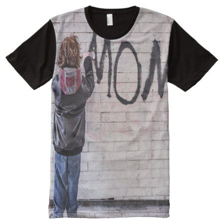 Paint for Mom Full Print Tshirt - click to get yours right now!
