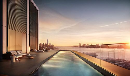 Behold  the $50M PentHouse & Sky Pool of @Stacey Foster #Chelsea Condos   @Curbed NY ~~~Remember  @Chateau360 for your home decor'