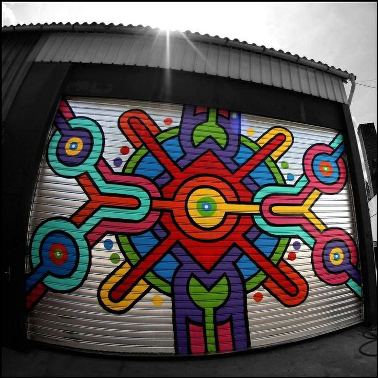 Garage Wall Art 38 best wall art images on pinterest | urban art, murals and graffiti