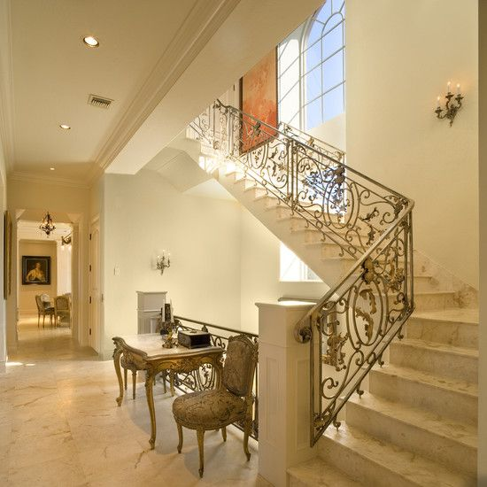 15 Incredible Mediterranean Staircase Designs That Will: Amazing Classic Elegant Home Design: Antique Decor