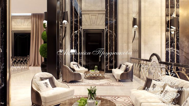 Дизайн проект интерьера Резиденции - фото