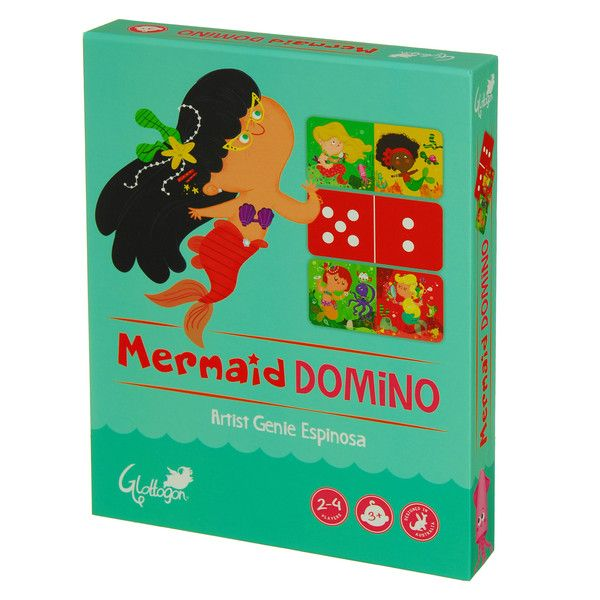 Mermaid Domino on our new website - looks great :) www.glottogon.com.au