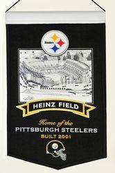 Pittsburgh Steelers Wool Stadium Banner - Heinz Field