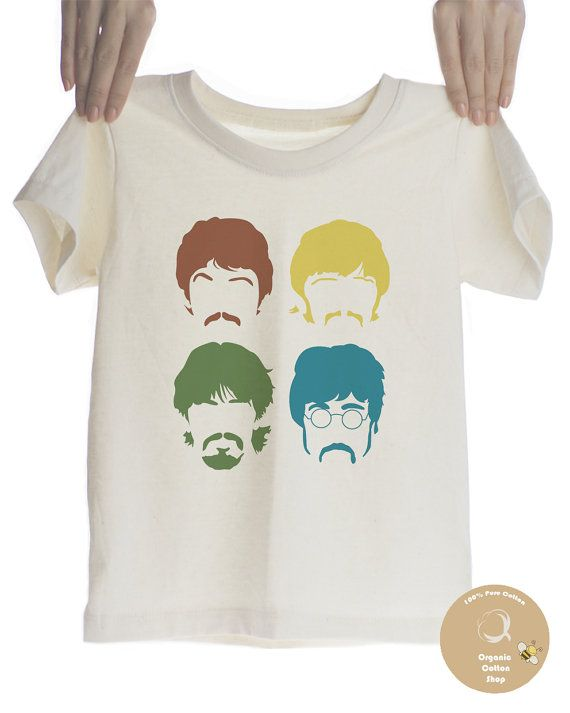 The Beatles Rock Organic T-shirt for Kids