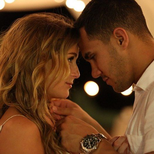 Alexa Vega's sweet Valentine's Day note for Carlos Pena!