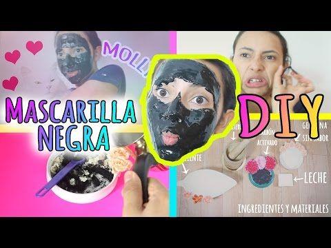 DIY-MASCARILLA NEGRA PARA QUITAR LOS PUNTOS NEGROS-/SUSCRIBETE/ACLARA TU PIEL-OHCA - YouTube