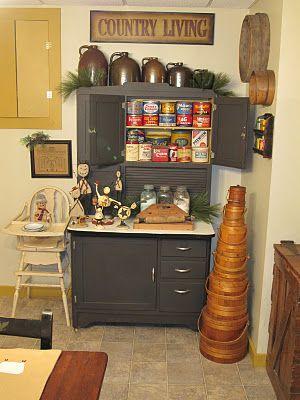 175 Best Primitive Kitchens Images On Pinterest Kitchen
