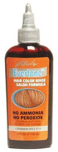 Vitale Evertone Hair Color Rinse - ET8 Cinnamon Spice *** You can find out more details at the link of the image.