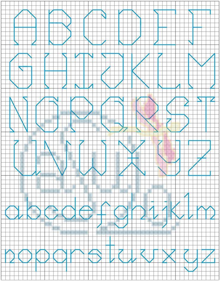 Gráficos grátis para ponto de cruz e apresentação de trabalhos feitos à mão.
