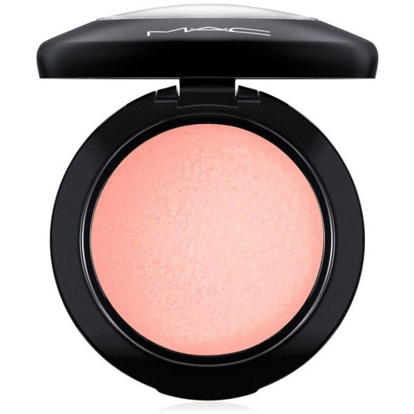 Mac Future Mac Mineralize Blush found on Polyvore featuring beauty products, makeup, cheek makeup, blush, ray beam, mac cosmetics and mineral blush