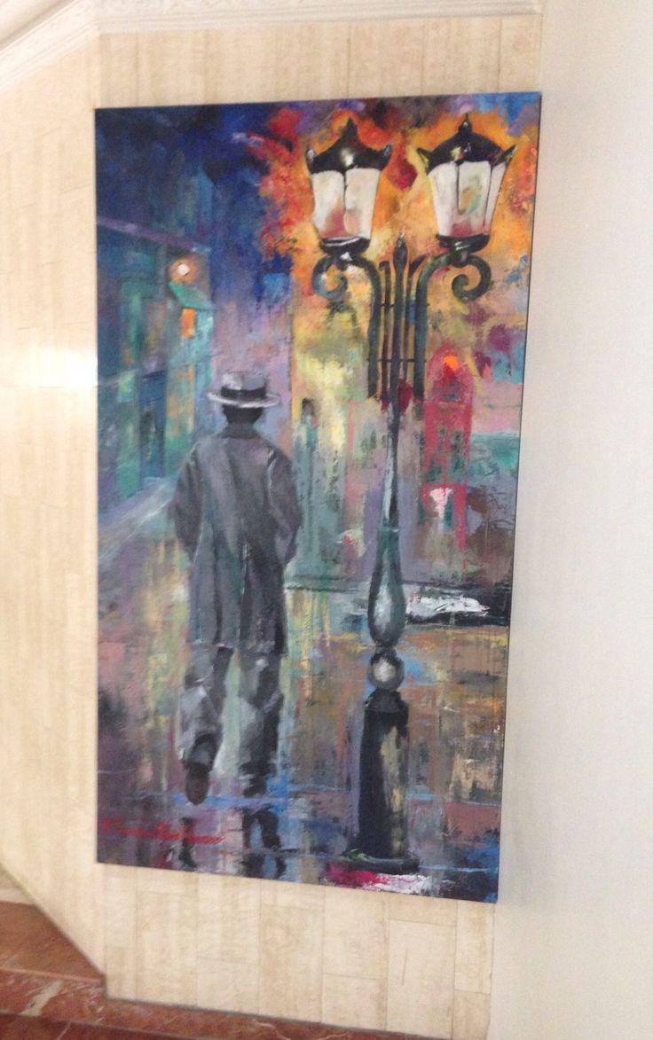 Carmen Alicia Navarro Acrílico sobre lienzo