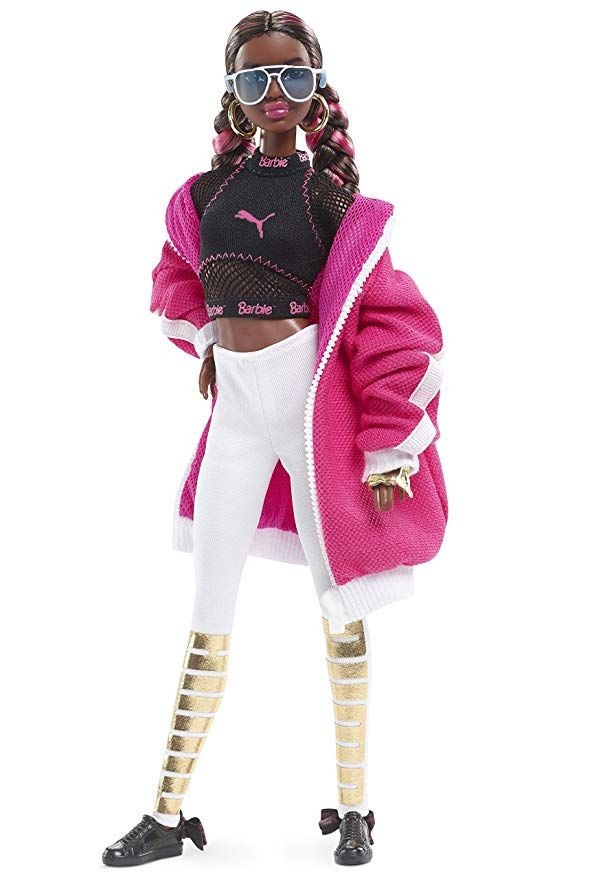 Mattel Barbie BRAND NEW Puma 50th Anniversary African American LIMITED EDITION