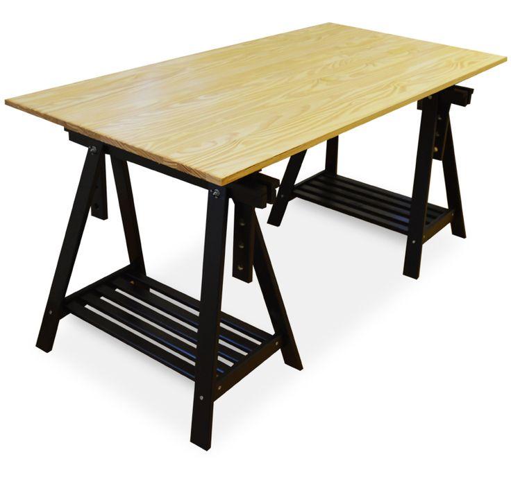 1000  ideas sobre mesas de comedor de caballete en pinterest ...