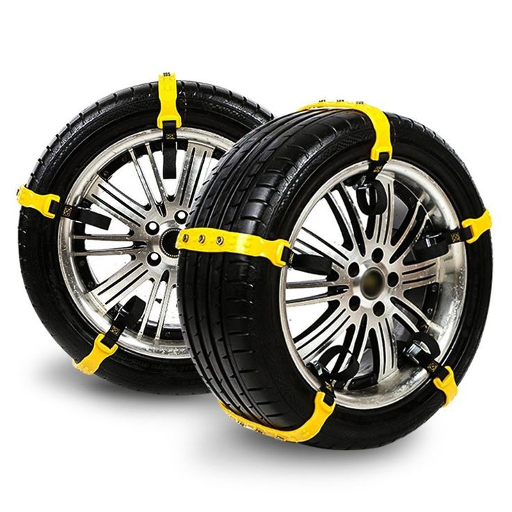 Snow Chains, Anti-skid Tire Chains Anti Slip Snow Tire Chains for Cars,width:185-295mm,10PCs (style23)
