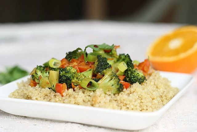 Broccoli and Quinoa Satay [Oatmeal with a Fork]
