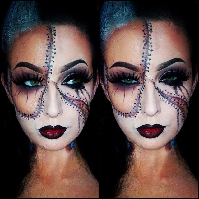 - Halloween Face Paint Ideas For Adults