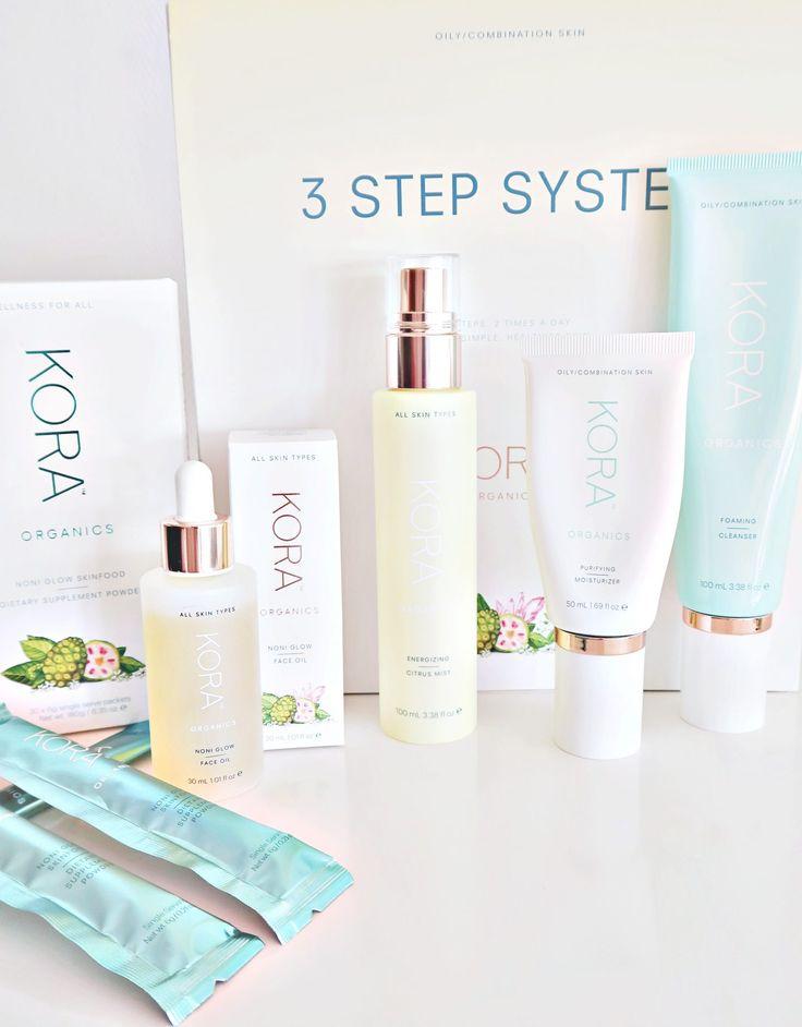 Kora Organics Skin Care + Skin Supplement Review #koraorganics #review #skincare #noniglow