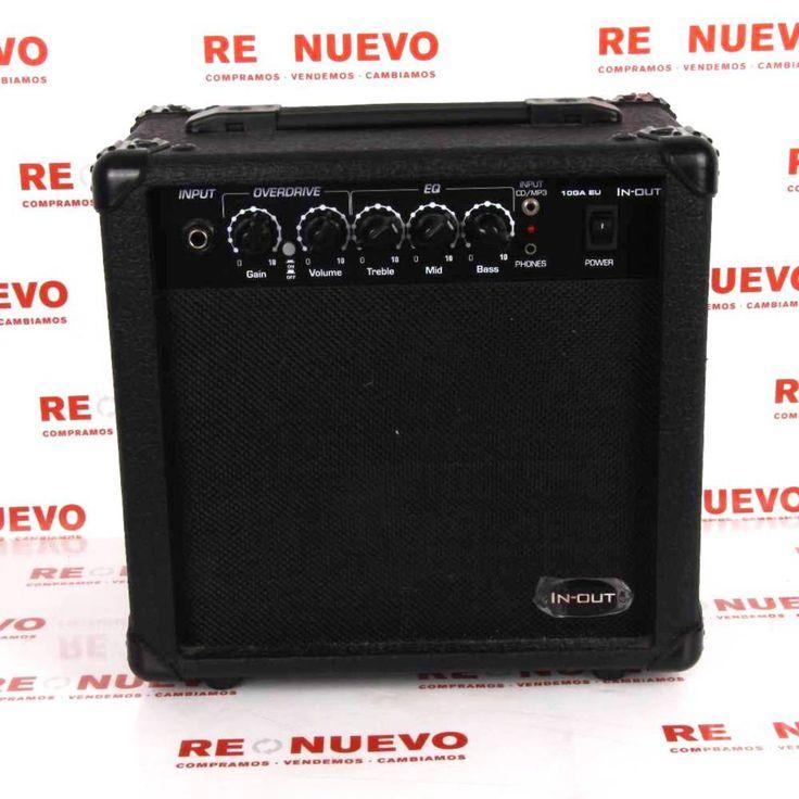 #Amplificador de guitarra# IN-OUT 10 GA ER# de segundamano E271901#segundamano#