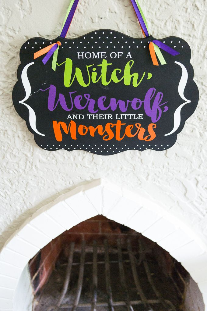 halloween vinyl decorations