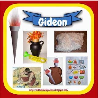 gideon bible lesson for kids - Google Search.  #biblestorycrafts