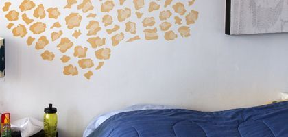 How to Paint a Cheetah Print on Walls
