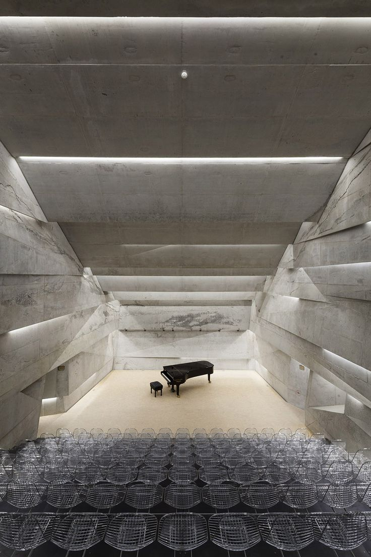 Concert hall, Blaibach / Peter Haimerl - 谷德设计网
