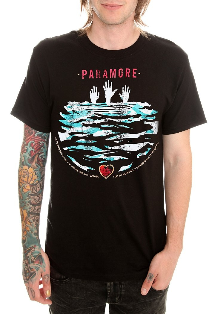 PARAMORE DROWNING SLIM-FIT T-SHIRT. HAVE IT.